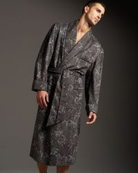 Loro Piana | Gray James Paisley-print Cashmere Robe for Men | Lyst