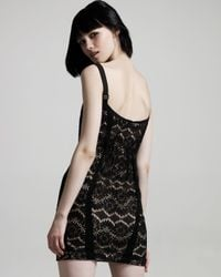 Rag & Bone - Black Hadleigh Lace Dress - Lyst