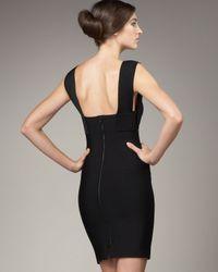 Roland Mouret - Macha Dress, Black - Lyst