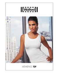 Wolford - White Athens Seamless Top - Lyst