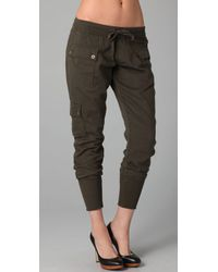 Citizens of Humanity | Green Colony Drawstring Cargo Pants | Lyst