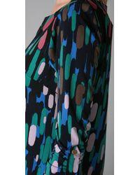 Tibi - Blue Raindrops Shift Dress - Lyst