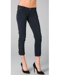 PAIGE | Black Kenya 5 Pocket Pants | Lyst