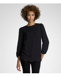 Tory Burch | Black Liwette Top | Lyst