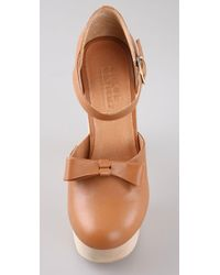 Opening Ceremony | Brown Platform Mary Jane | Lyst