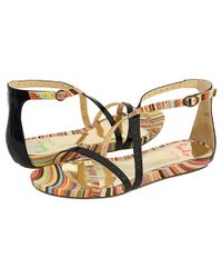 Paul Smith | Natural Dingani Leather Sandal | Lyst