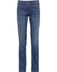 William Rast - Blue Savoy Mid-rise Skinny Jeans - Lyst