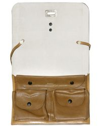 Bally | Natural Canvas and Leather Shoulder Bag | Lyst