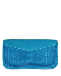 Marc By Marc Jacobs | Blue Bianca Dreams Of Monte Carlo Clutch | Lyst