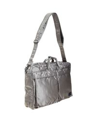 Porter - Gray Three-way Briefcase for Men - Lyst