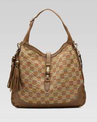 Gucci | Natural New Jackie Large Shoulder Bag | Lyst