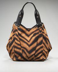 Kooba | Multicolor Tiger-print Mason Tote | Lyst
