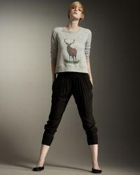 Stella McCartney | Black Elastic-waist Pants | Lyst
