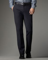 Theory - Blue Pinstriped Trousers for Men - Lyst