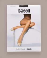 Wolford | Black Individual 5 Tights | Lyst