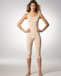 Wolford | Natural Opaque Forming Capris | Lyst