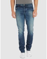 Ksubi | Blue Patch Jean for Men | Lyst
