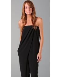 Cheap Monday | Black Aisha Jumpsuit | Lyst