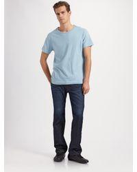001c6bf9 Lyst - J Brand Walker Straight-leg Jeans/charger in Blue for Men