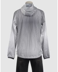 Nike | Gray Zip Through Wind Cheater for Men | Lyst