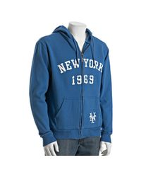 Red Jacket | Blue Royal Fleece New York Mets Stone Wall Hoodie for Men | Lyst
