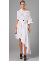 Viktor & Rolf | White Poplin Dress | Lyst