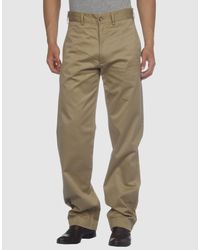 Woolrich - Green Casual Pants for Men - Lyst