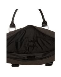 Ben Sherman - Dark Brown Canvas Laptop Messenger Bag for Men - Lyst