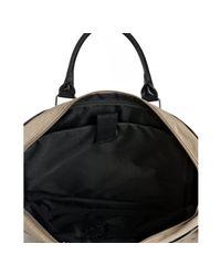 Ben Sherman - Natural Taupe Canvas Laptop Messenger Bag for Men - Lyst