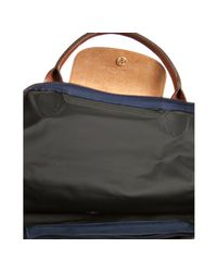 Longchamp | Blue Navy Nylon Le Pliage Weekender Folding Tote | Lyst