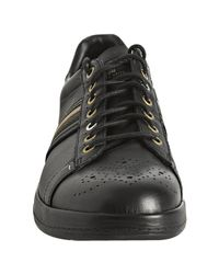 Paul Smith - Black Leather Rabbit Sneakers for Men - Lyst