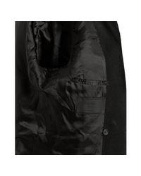 Prada - Black Wool Double-breasted Jacket for Men - Lyst