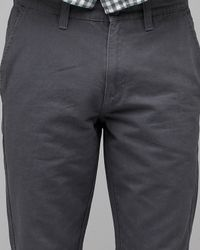 RVCA | Gray Demon Flap Pocket Pant for Men | Lyst