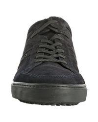 Tod's | Dark Blue Suede Cassetta Sneakers for Men | Lyst