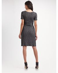 Vena Cava | Gray Cross-waist Jersey Dress | Lyst