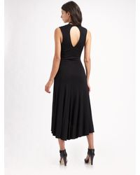 Vena Cava | Black Esprit Jersey Necklace Dress | Lyst