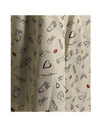 Via Spiga | Black Wool Blend Zip Front Caternia Coat | Lyst