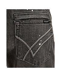 William Rast | Gray Moonlight Stretch Savoy Distressed Skinny Jeans | Lyst