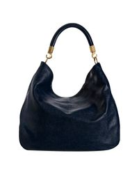 Saint Laurent | Marine Blue Goatskin Y Now Hobo | Lyst