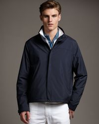 Loro Piana | Blue Regatta Windstorm Jacket for Men | Lyst