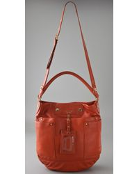 Marc By Marc Jacobs - Red Preppy Leather Hillier Hobo - Lyst