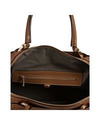 Marc Jacobs | Natural Camel Lambskin Paradise Janice Top Handle Bag | Lyst