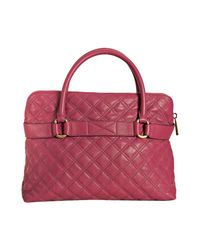 Marc Jacobs | Pink Bruna Quilted Tote | Lyst