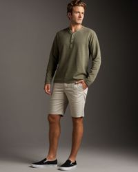 Theory | Natural Slim-leg Shorts for Men | Lyst
