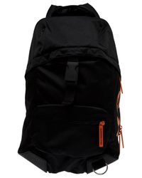 Y-3 | Black Logo Backpack for Men | Lyst