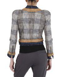 DSquared² | Gray Ladylike Tweed Jacket | Lyst