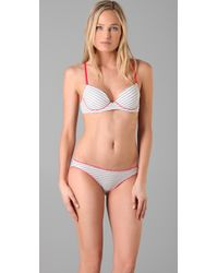 Calvin Klein | Gray Underwear Ck One Cotton Push-up Bra | Lyst