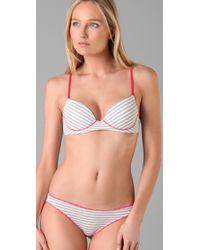 Calvin Klein | Gray Underwear Ck One Cotton Push-up Bra | Lyst