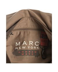 Marc New York - Brown Waxed Cotton Rivington North-south Messenger Bag for Men - Lyst
