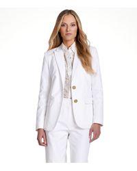 Tory Burch - White Aliza Jacket - Lyst